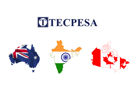 Tecpesa TECPESA consolidates in Australia, India and Canada