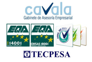 Tecpesa TECPESA along with Cavala extends its Quality Management System, and incorporates ISO 14001 and OHSAS 18001